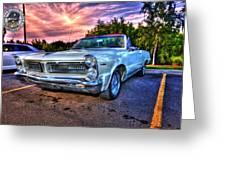 Pontiac Greeting Card by Nicholas  Grunas
