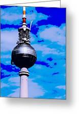 Pop Art Berlin Greeting Card by Falko Follert