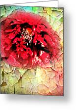 Poppy Kiss Greeting Card by Svetlana Sewell