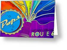 Pops IIi Greeting Card by Malania Hammer