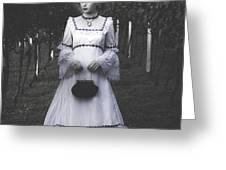 porcelain doll Greeting Card by Joana Kruse