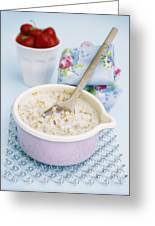 Porridge In A Pan Greeting Card by Veronique Leplat