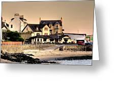 Port Patrick Greeting Card by Barry R Jones Jr