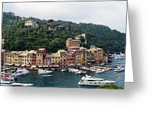 Portofino Dreaming Greeting Card by Marilyn Dunlap
