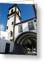 Portuguese Architecture Greeting Card by Gaspar Avila