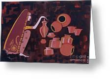 Potter Greeting Card by Vilas Malankar