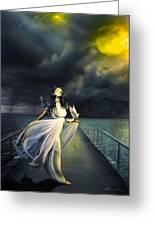 Power Of Faith Greeting Card by Svetlana Sewell