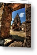 Prasat Phnom Rung Greeting Card by Adrian Evans