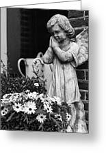 Prayers Greeting Card by Leslie Leda