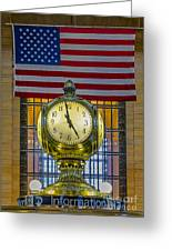Precious Time And Colors Greeting Card by Susan Candelario