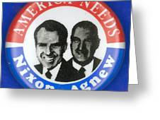 Presidential Campaign:1972 Greeting Card by Granger