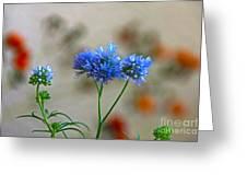 Pretty Weeds Greeting Card by Byron Varvarigos
