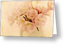 Primrose Delights Greeting Card by Linde Townsend