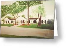 Prince Faisal's Home In Fl Greeting Card by Alanna Hug-McAnnally