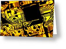 Printed Circuit Board, Artwork Greeting Card by Pasieka