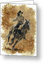 Protecting The Mail Greeting Card by Debra Jones