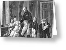 PRUSSIAN ROYAL FAMILY, 1807 Greeting Card by Granger