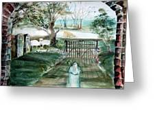 Psalm 23 Greeting Card by Mindy Newman