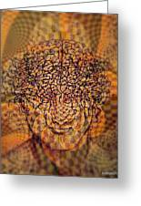 Psycho Traumatic Hypnotic Greeting Card by Paulo Zerbato