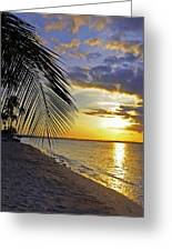 Puerto Rico Sunset 3 Greeting Card by Stephen Anderson