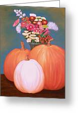 Pumpkin Greeting Card by Amity Traylor
