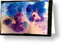 Purple Skies Greeting Card by Tis Art