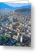 Pusan City South Korea 2012 Greeting Card by Eduard Kraft