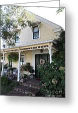Quaint House Architecture - Benicia California - 5d18794 Greeting Card by Wingsdomain Art and Photography
