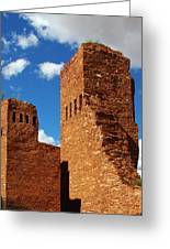 Quarai Salinas Pueblo Missions National Monument Greeting Card by Christine Till
