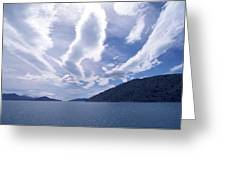 Queen Charlotte Sound Greeting Card by Kevin Smith