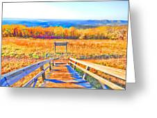 Queen Wilhelmina State Park Greeting Card by Douglas Barnard