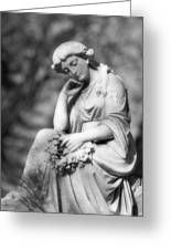 Quiet Contemplation Greeting Card by Mark J Seefeldt