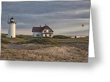 Race Point Lighthouse Greeting Card by Nicholas Palmieri