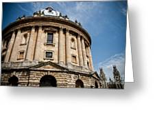 Radcliffe Camera Greeting Card by Steven Gray