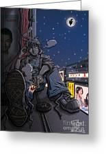 Radical Dreamer Greeting Card by Tuan HollaBack