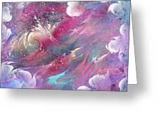Raging Dreams Greeting Card by Rachel Christine Nowicki