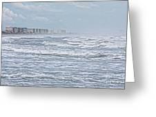 Raging Waters Greeting Card by Deborah Benoit