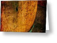 Rain Barrel Greeting Card by Judi Bagwell