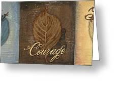 Rainbow Leaves 2 Greeting Card by Debbie DeWitt