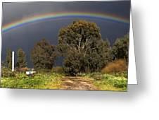 Rainbow Greeting Card by Photostock-israel