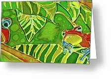 Rainforest Buds Greeting Card by Kelly     ZumBerge
