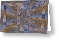 Rainy Day Portal 1 Greeting Card by Tim Allen
