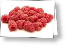 Raspberries Greeting Card by Fabrizio Troiani