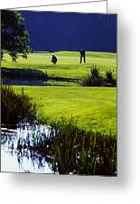 Rathsallagh Golf Club, Co Wicklow Greeting Card by The Irish Image Collection