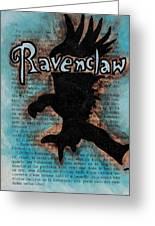 Ravenclaw Eagle Greeting Card by Jera Sky