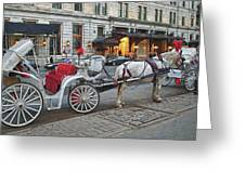 Ready For A Ride Greeting Card by Kathy Jennings