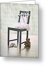 Ready For Ballet Lessons Greeting Card by Joana Kruse
