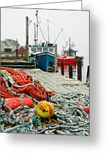 Ready To Go Greeting Card by Frank Townsley