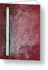 Red Galaxy - Abstract Greeting Card by Ismeta Gruenwald