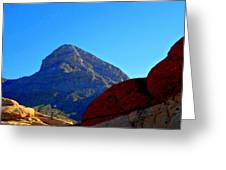 Red Rock Canyon 24 Greeting Card by Randall Weidner